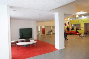 Aktivitetsrum i SFO på Mårslet skole
