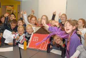 Børn på Mårslet Skole