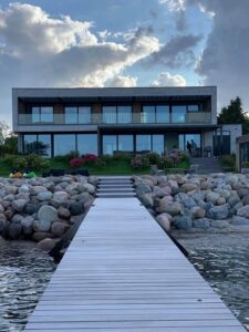 Facade på privat bolig i Vedbæk