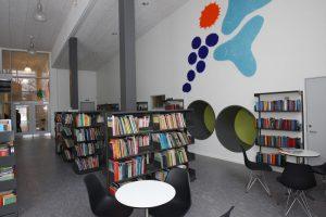 Bibliotek i pædagogisk lærings center